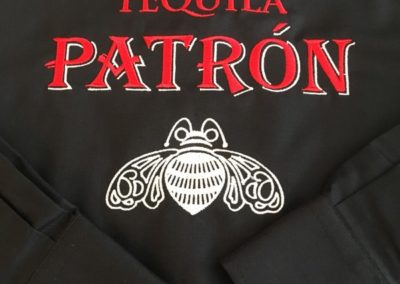 Chemise brodée au logo TEQUILA PATRON