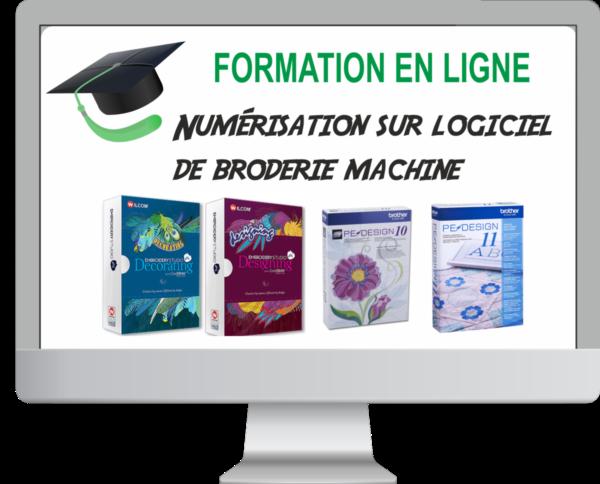 Formation en ligne de broderie machine