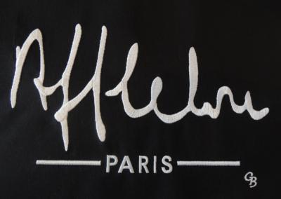 Logo Alain Afflelou brodé