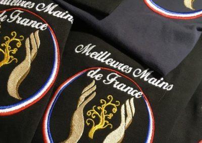Polo brodé Meilleures Mains de France Lyon
