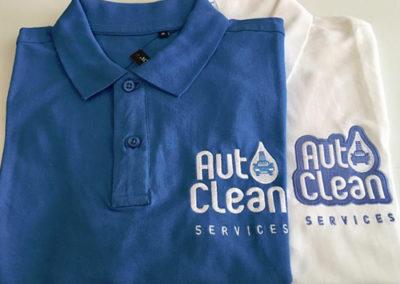 Polo brodé logo Autoclean Services Lyon